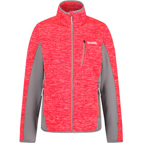 Regatta Laney VI Chaqueta Mujer, fiery coal/rock grey